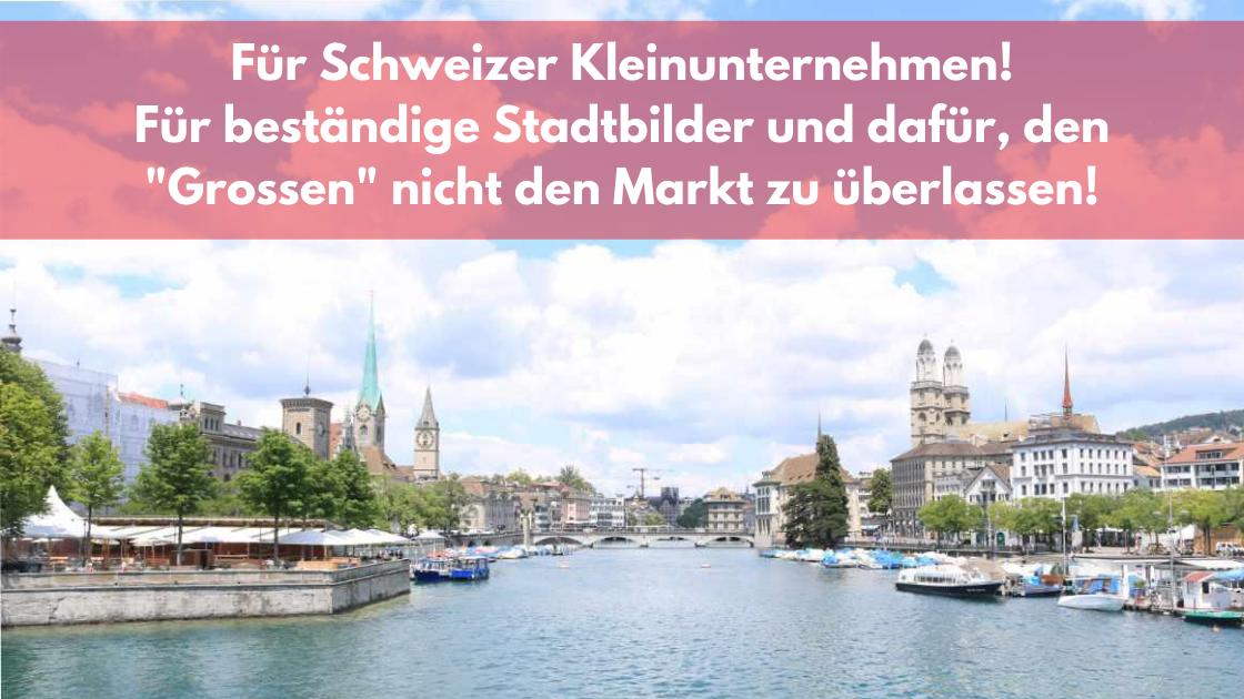 Limmat,Zürich und ZackigOnline Slogan